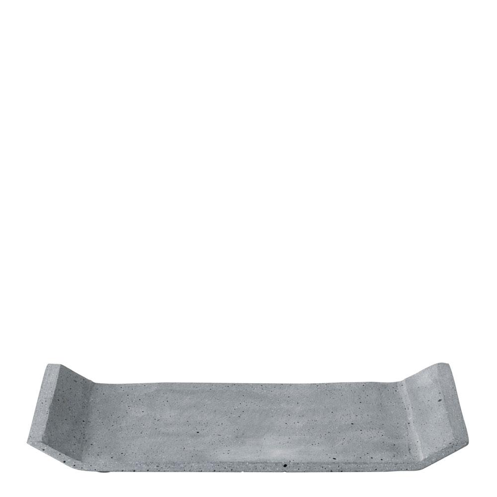Blomus - Blomus Moon Bricka 30x20 cm Ljusgrå