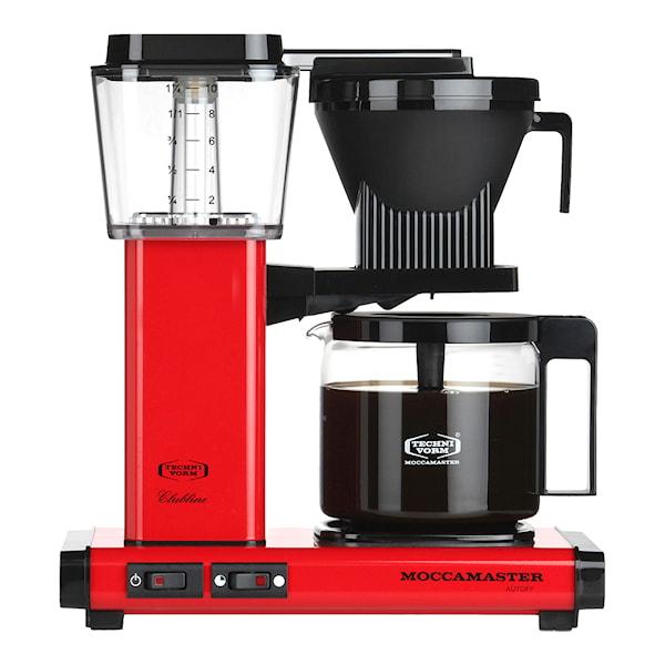 MoccaMaster MoccaMaster Kaffebryggare Röd