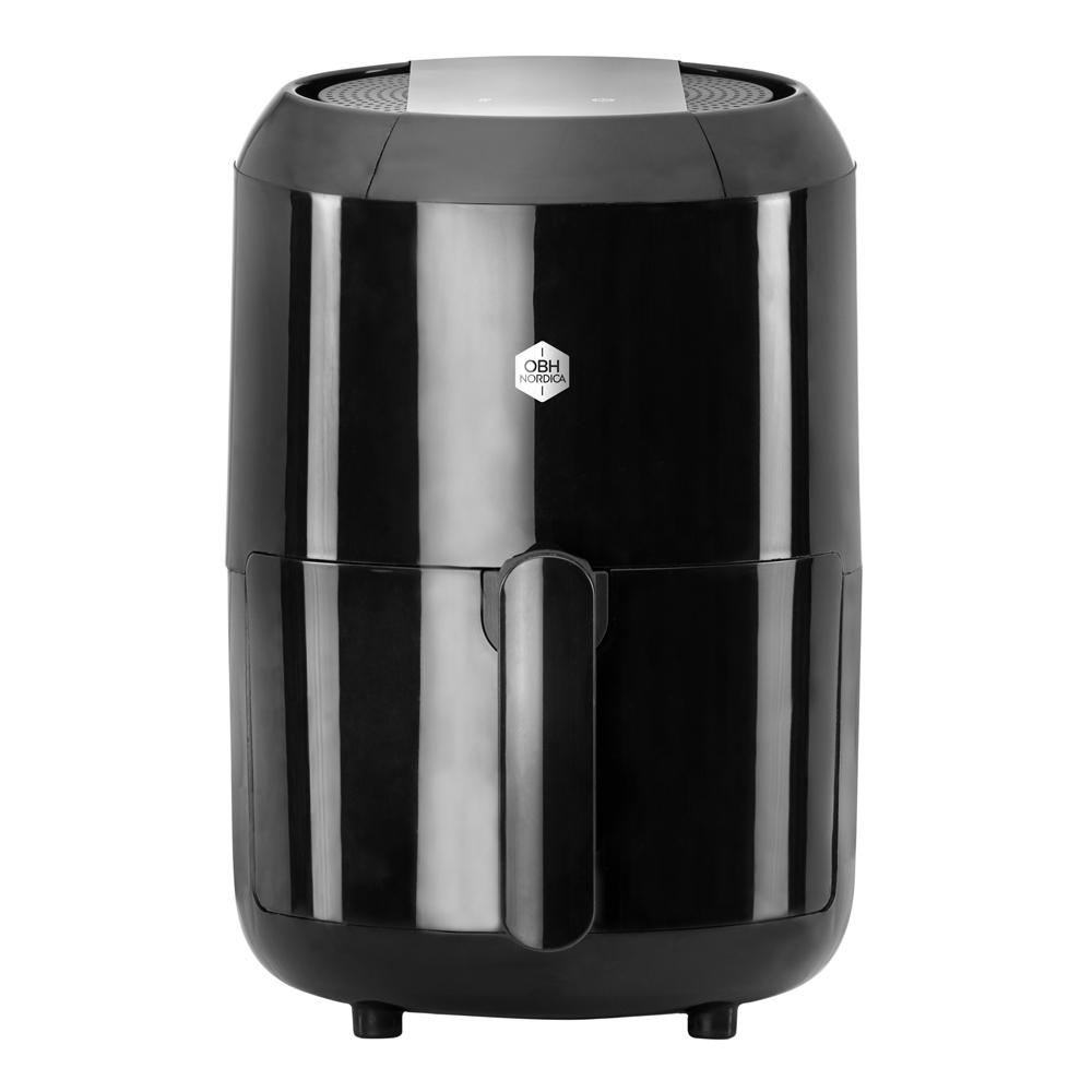OBH Nordica - Easy Fry Airfryer Compact Digital Varmluftsfritös Svart