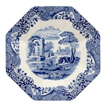 Blue Italian Serveringsfat 35,5 cm