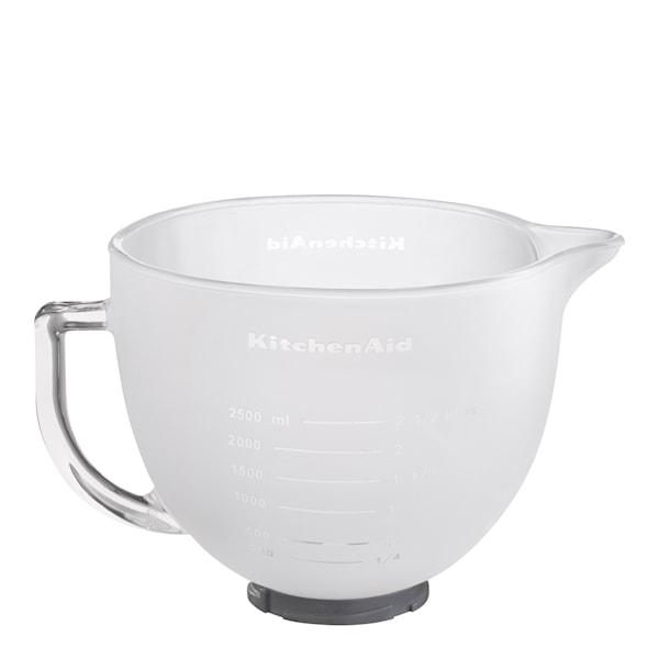 KitchenAid Glasskål Frostad vit
