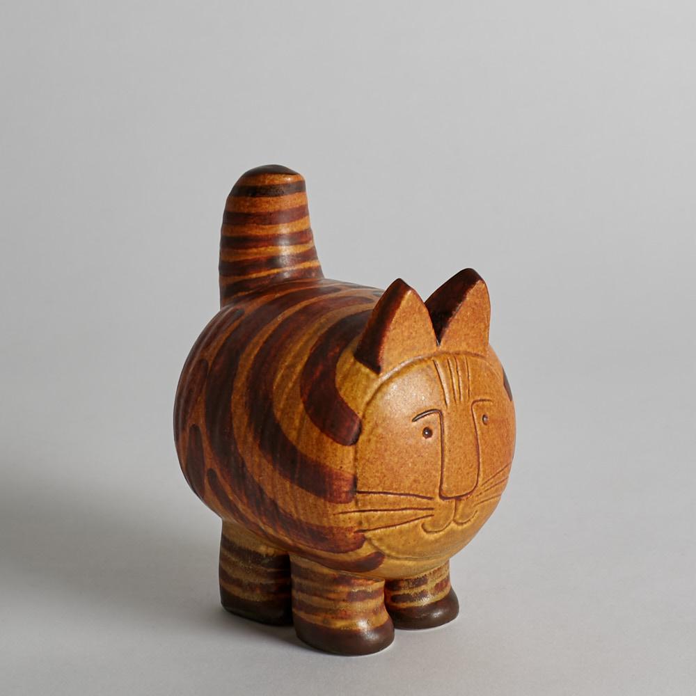 """Gustavsberg - Katt """"Stora Katten"""" av Lisa Larsson"""