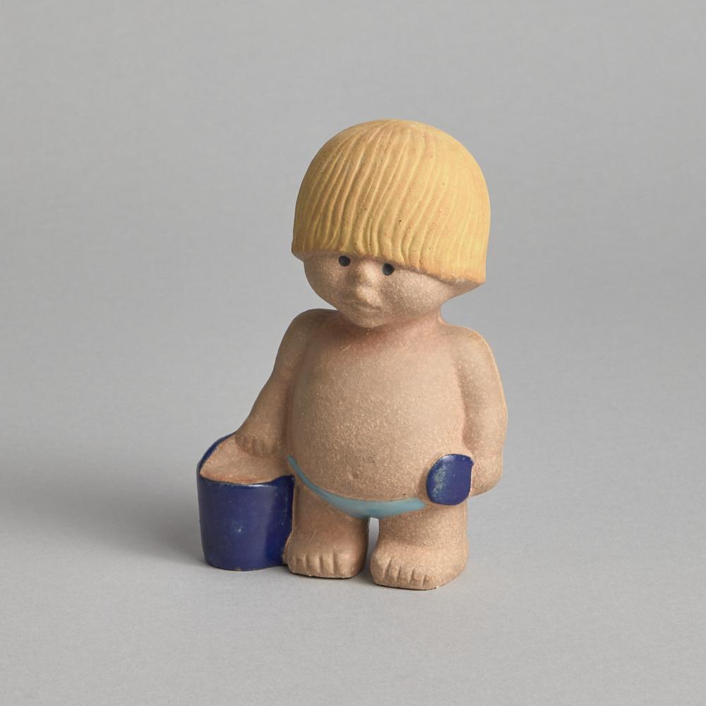"""Gustavsberg - SÅLD """"Alla världens barn"""" av Lisa Larson"""