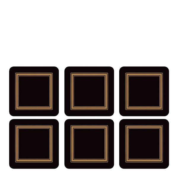 Classic Glasunderlägg 6-pack
