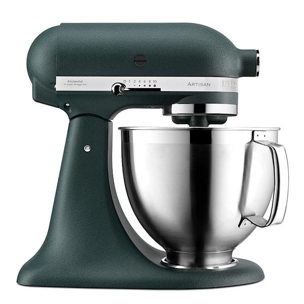 KitchenAid Artisan Kjøkkenmaskin 4,8 L + tilbehør Pebble Palm