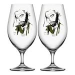All About You Ölglas 40 cl 2-pack Want Him