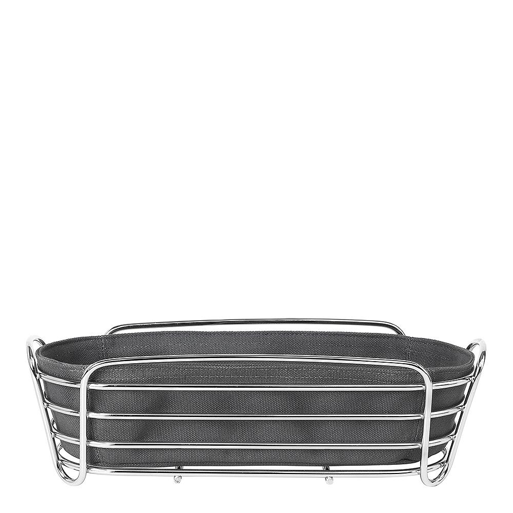 Blomus - Delara Brödkorg Oval 32x14 cm Magnet Grey