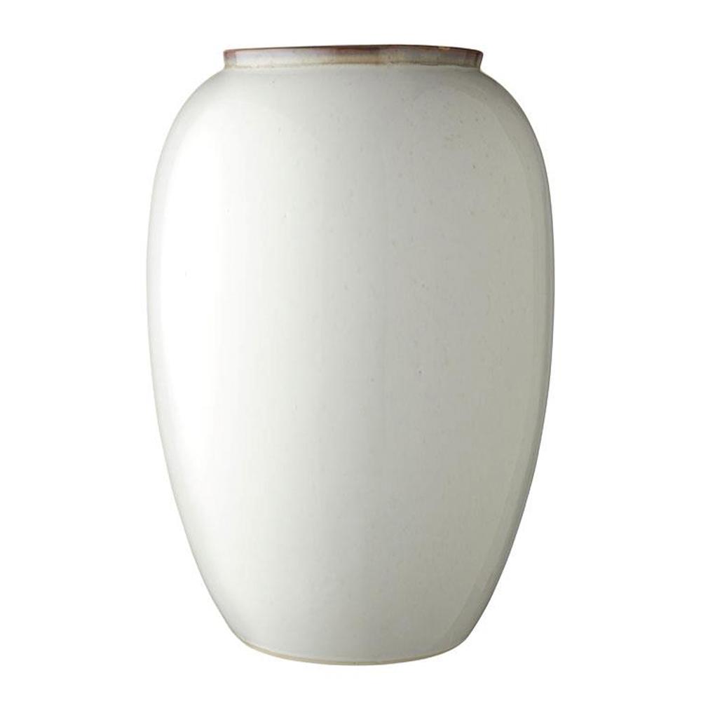 Bitz - Keramikvas 50 cm Gräddvit
