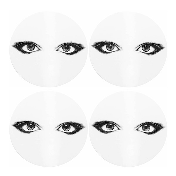 Rory Dobner Glasunderlägg Looking at You 4-pack