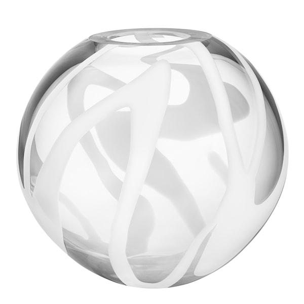 Globe Vas klot Vit 24 cm