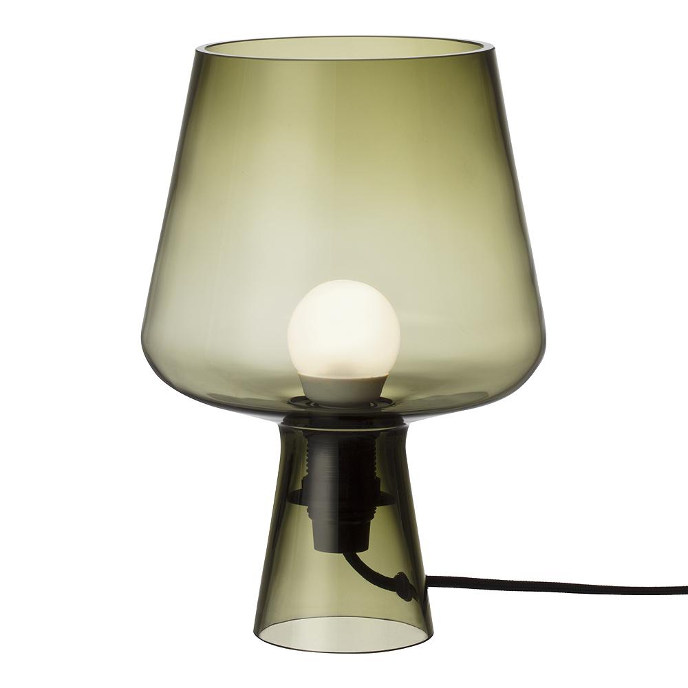 Iittala - Leimu Lampa 24x16,5 cm Mossgrön