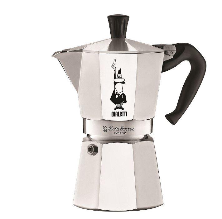 Bialetti - Moka Kaffekokare 6 koppar Rostfri
