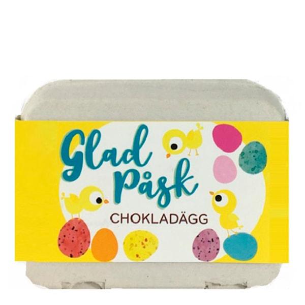 Scandchoco Chokladägg i kartong 12-pack
