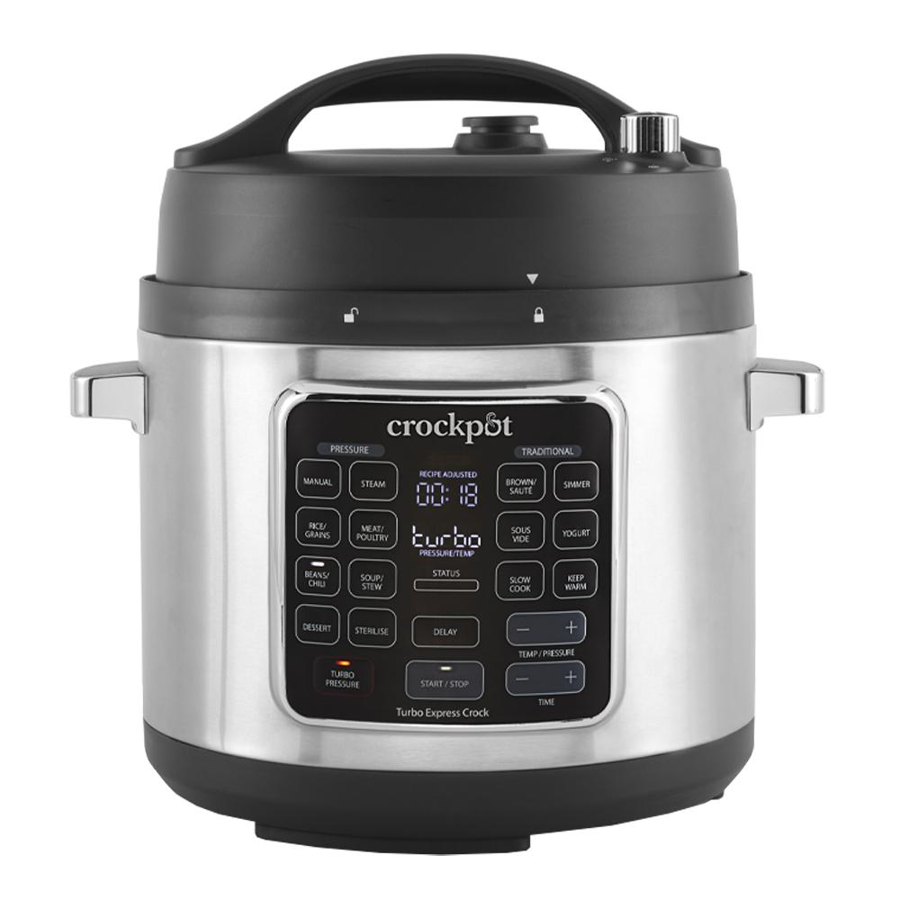 Crock-Pot - Crock-Pot Turbo Express - Förboka: Leverans från 1/11