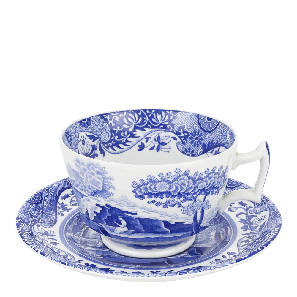 Spode - Blue Italian Frukostgods 28 cl