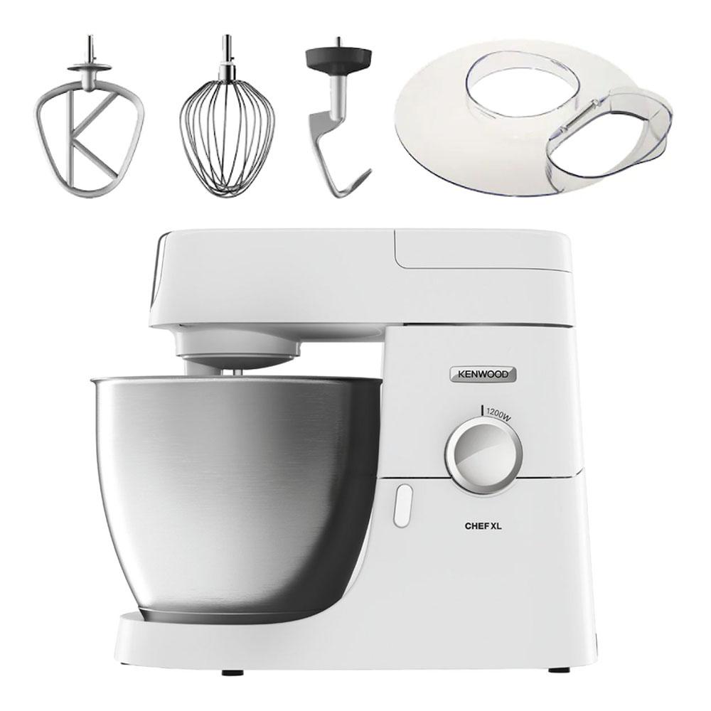 Kenwood - Kenwood Chef XL Köksmaskin KVL4101W + tillbehör Vit