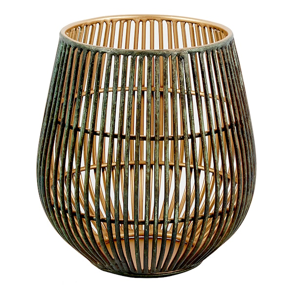 Coron Ljushållare 12 cm Svart/Guld