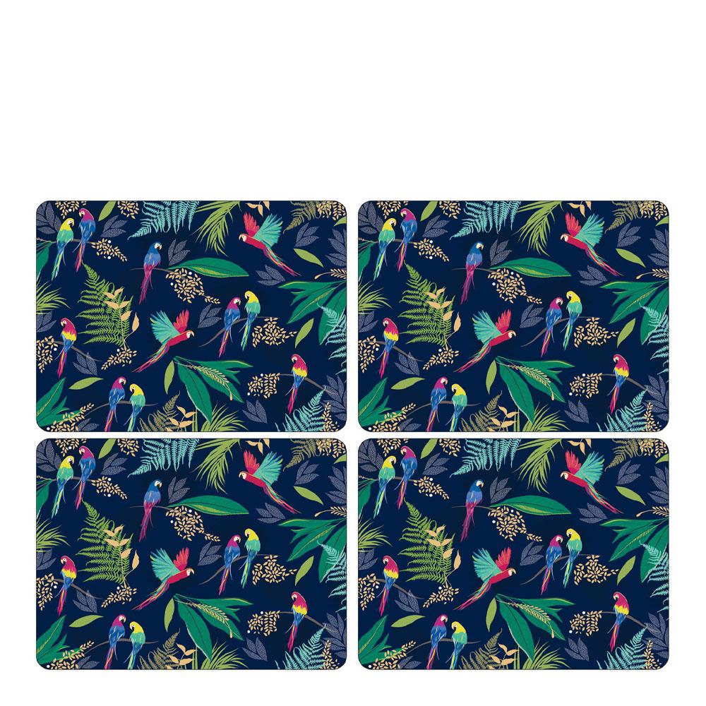 Pimpernel - Parrot Tablett 30x40 cm 4-pack