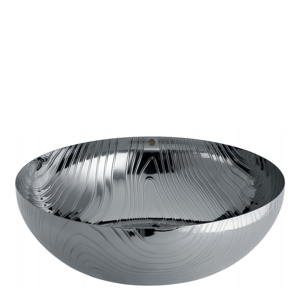 Alessi - Veneer Skål 21 cm Blankpolerad