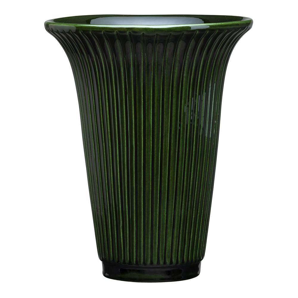 Bergs Potter - Daisy Vas 20 cm Grön emerald