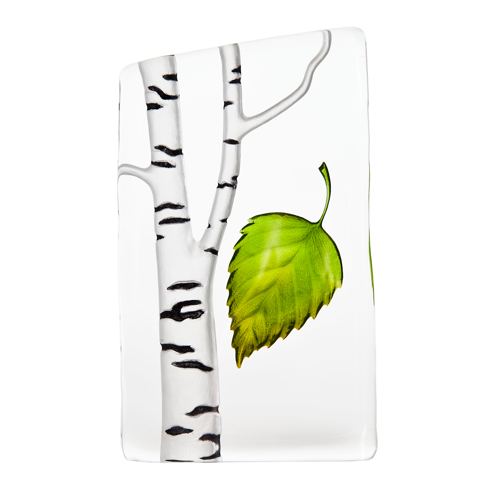Målerås Glasbruk - Global Icons Björk Grön
