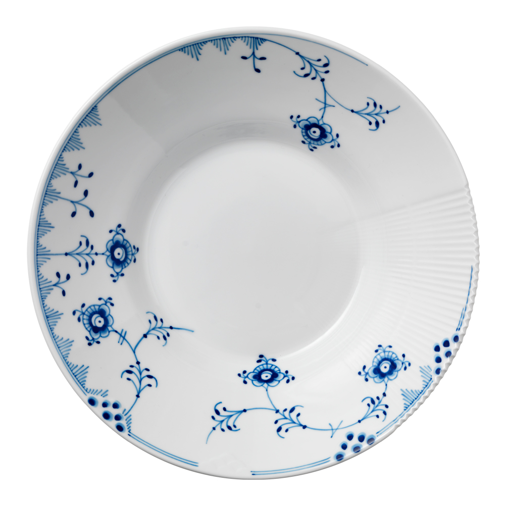 Royal Copenhagen - Blue Elements Tallrik djup 24,5 cm