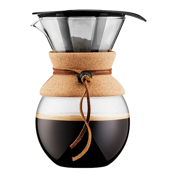 Pour Over Bryggare 1 L/8 koppar filter/kork