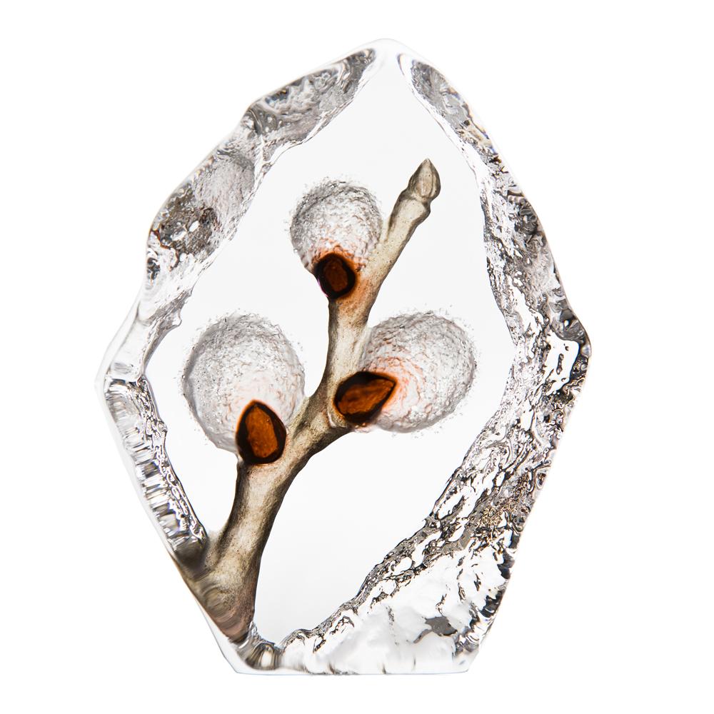Målerås Glasbruk - Floral Fantasy Vide  11 cm Vit