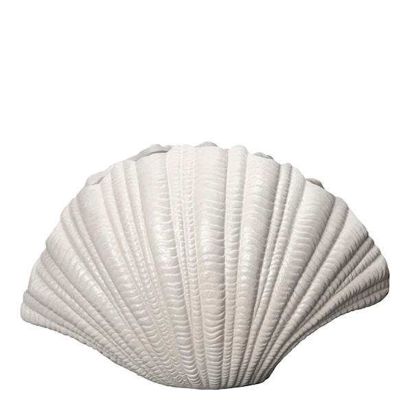 By On Shell Vas 31x19 cm Vit