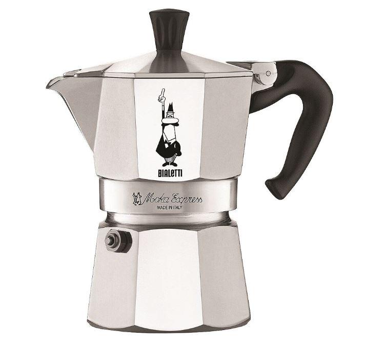 Bialetti - Moka Kaffekokare 3 koppar Rostfri
