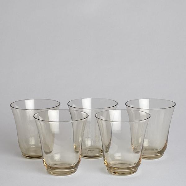 Vintage Glas 5 st