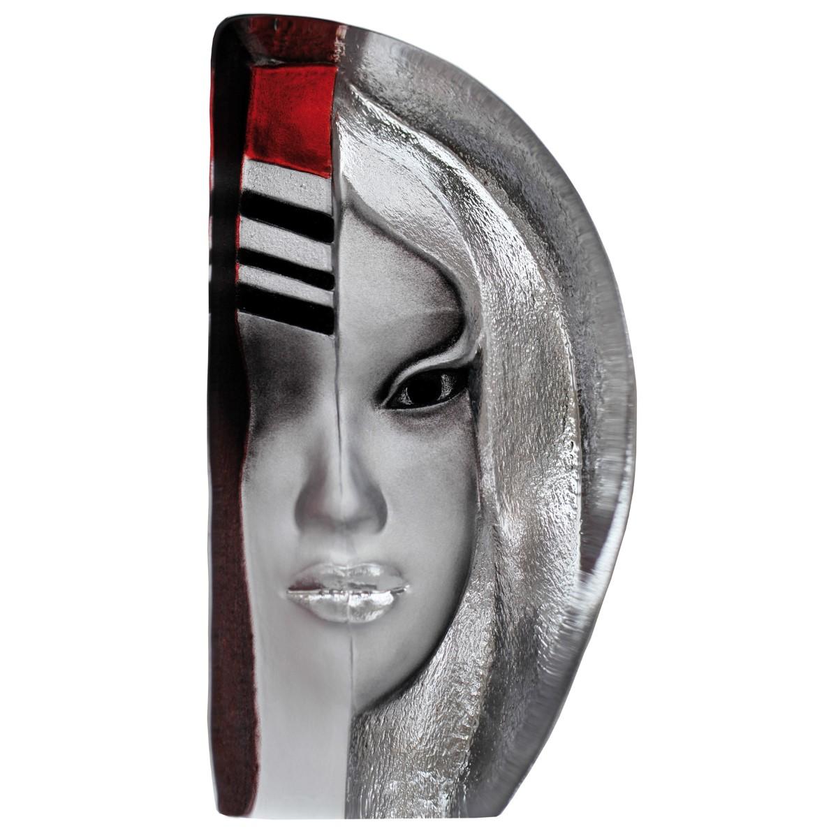 Målerås Glasbruk - Masq Enora 19x10 cm Röd