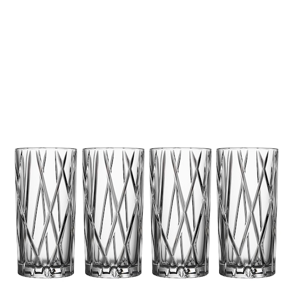 City Highballglas 37 cl 4-pack