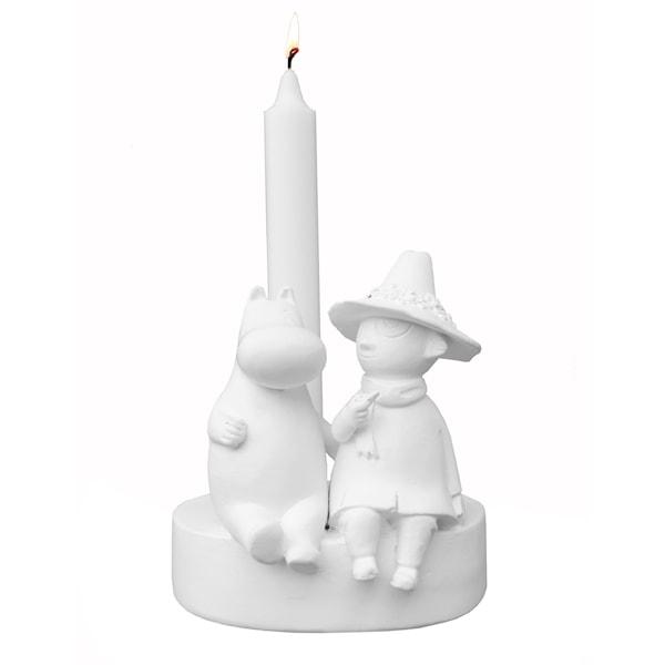 Mumin Ljusstake Vänskap 13 cm