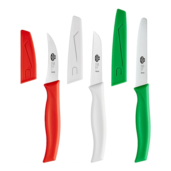 Mincio Knivset 3-pack Flerfärgad