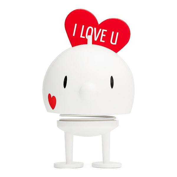 Love Bumble Large 16,5 cm Vit