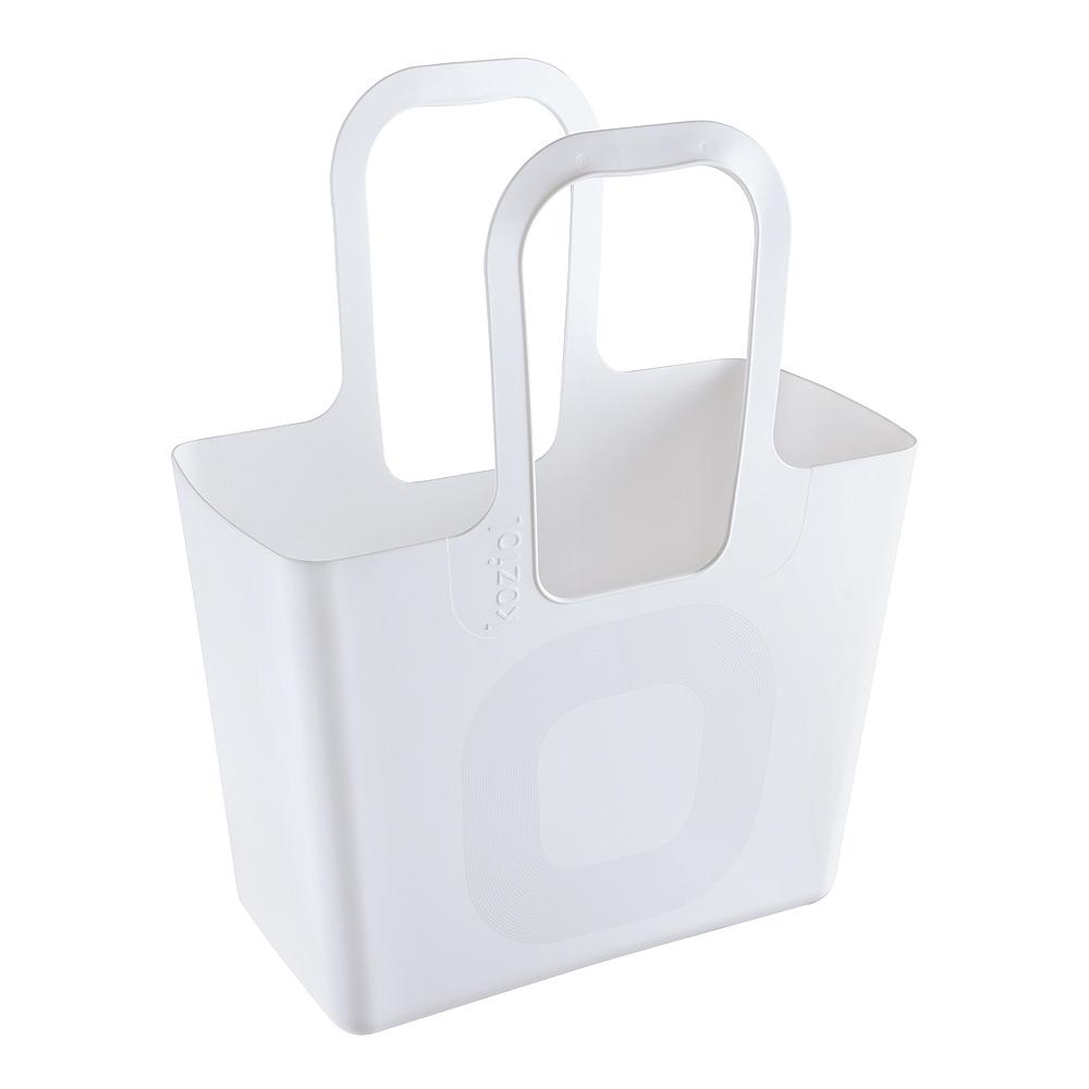 Koziol - Tasche Väska XL Organic Vit