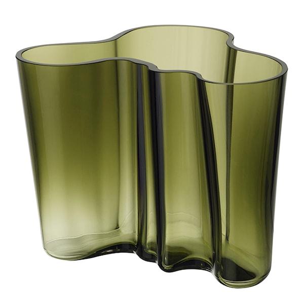 Iittala Alvar Aalto Collection Vase 16 cm Mosegrønn