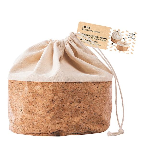 Nuts Innovations Brödpåse Kork Medium