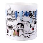 Mumin Ljus Winter Forest 8 cm