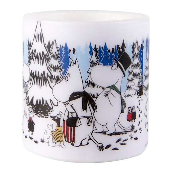 Muurla Mumin Ljus Winter Forest 8 cm