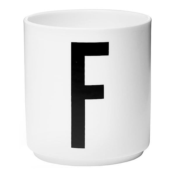 Design Letters Mugg F Vit