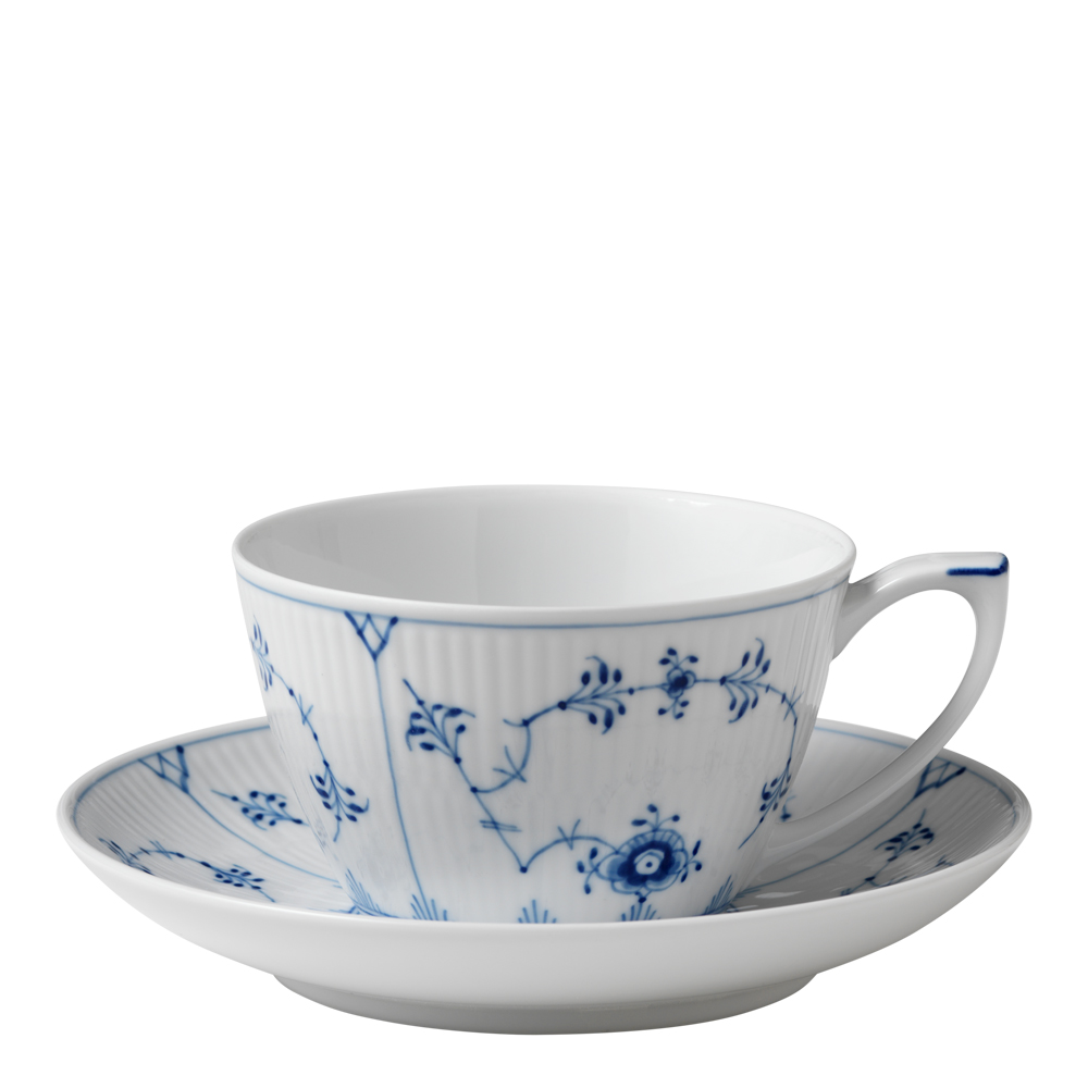 Royal Copenhagen - Blue Fluted Plain Tegods 28 cl