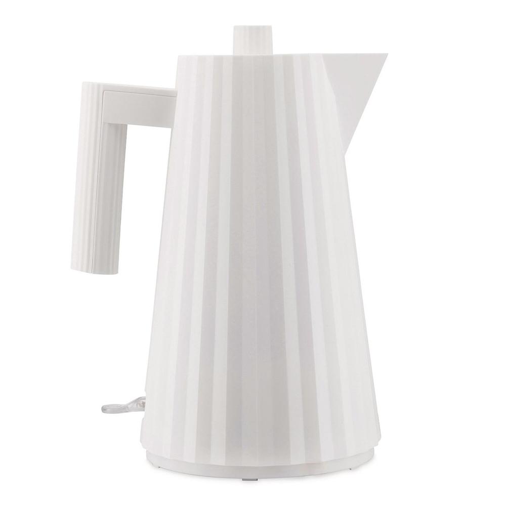 Alessi - Plissé Vattenkokare 1,7 L Vit