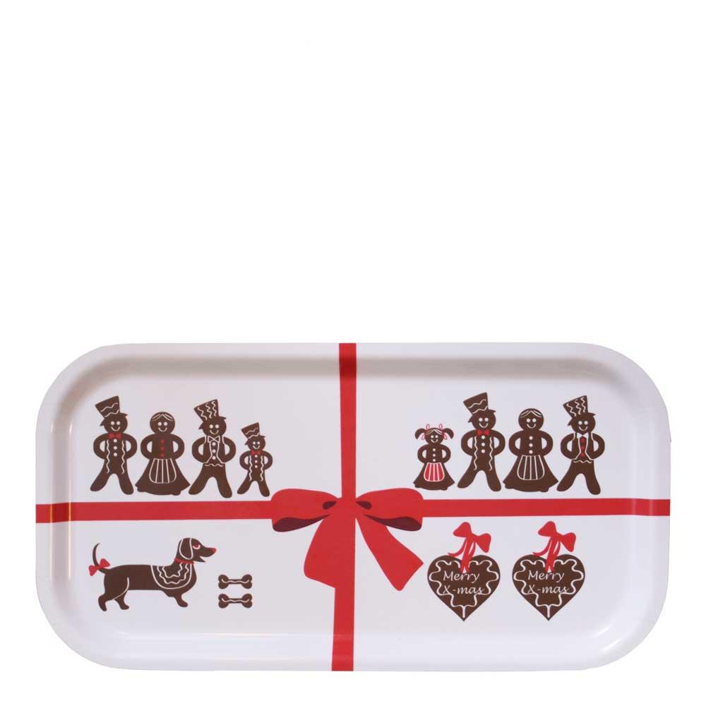 Citronelles - Gingerbread Bricka 43x22 cm