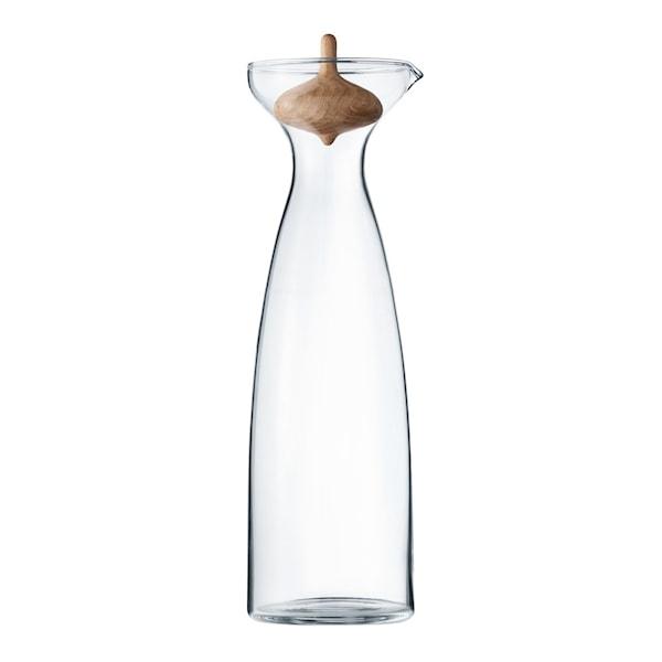 Georg Jensen Alfredo Karaffel 1 L Glass/Eik