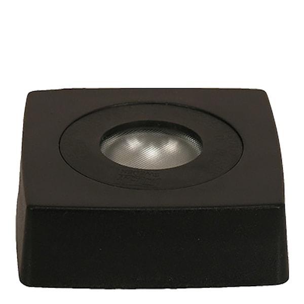 Ljusbox LED 9x9 cm Svart