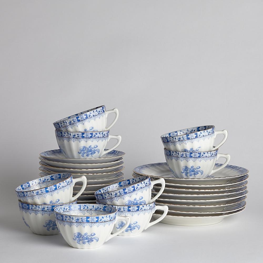 """Vintage - SÅLD kaffeservis """"Chinablau"""""""