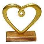 Hedy Skulptur Hjärta 16 cm Guld