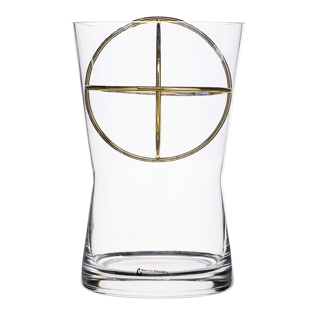 Born in Sweden - Sphere Vas Medium Guld